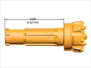 Drill bits for GD45A  hammers
